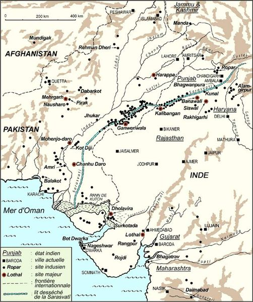 map-indus-valley
