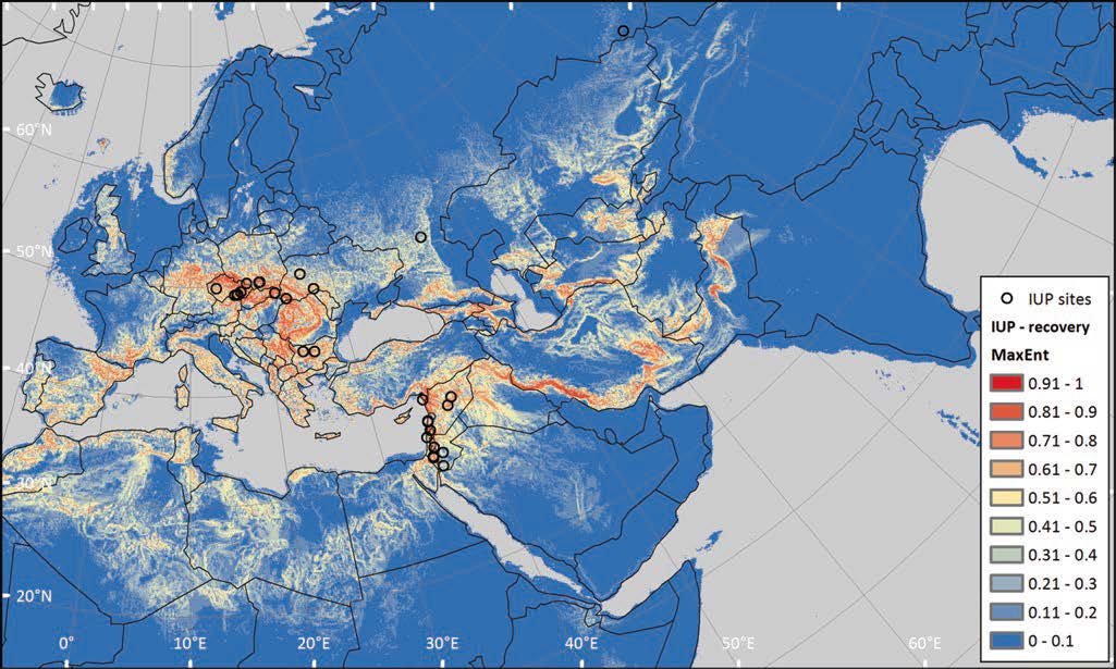 Ecological_Niche_and_Least-Cost_Path_Anatolia