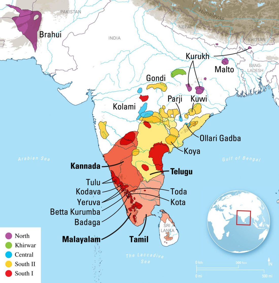 dravidian-languages
