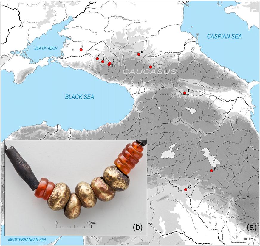 caucasus-beads-mesopotamia-sumeria