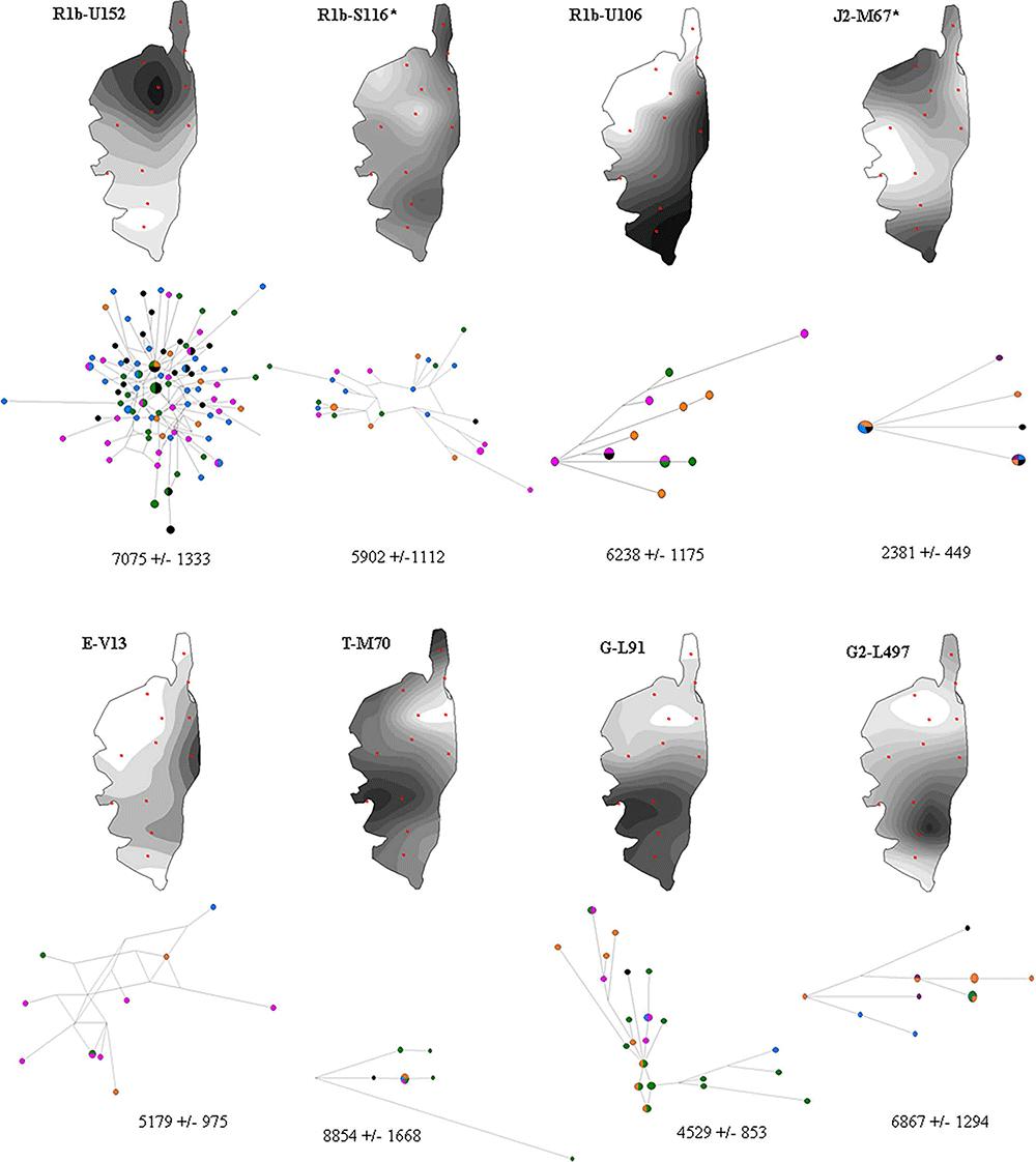 corsica-haplogroups