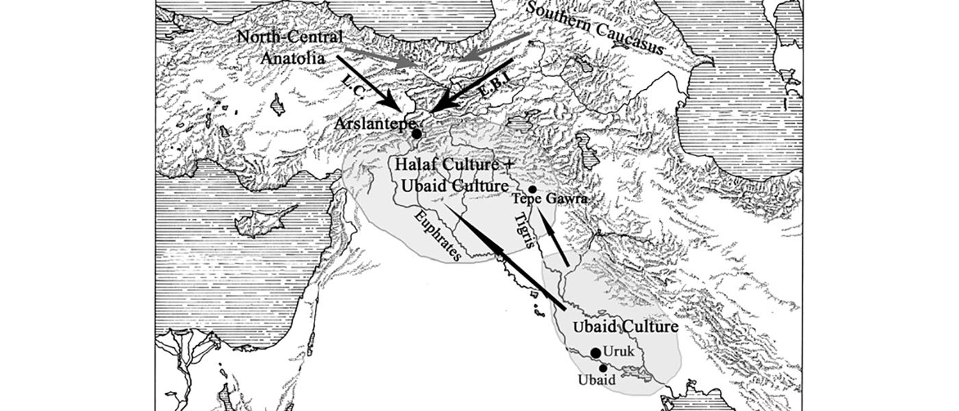 Migrations in the Levant region during the Chalcolithic, also marked by distinct Y-DNA