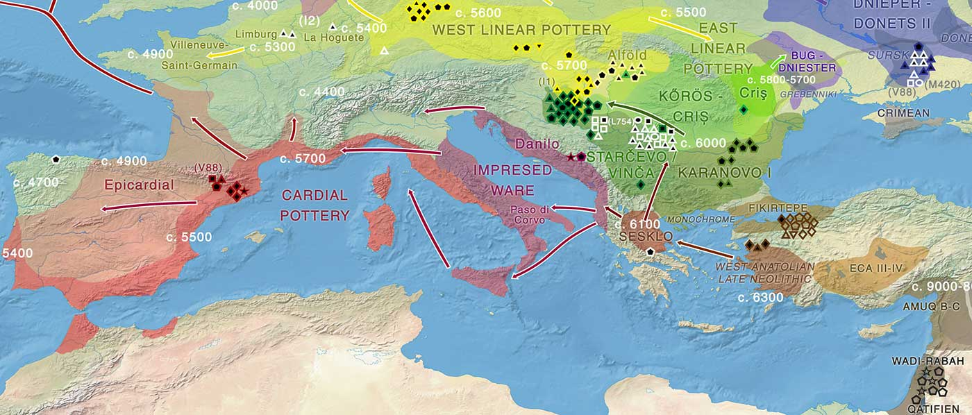 Y-chromosome mixture in the modern Corsican population shows different migration layers