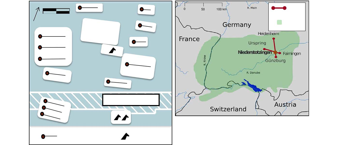 Early Medieval Alemannic graveyard shows diverse cultural and genetic makeup