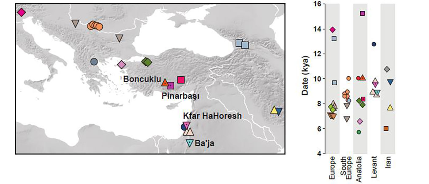 Expansion of haplogroup G2a in Anatolia possibly associated with the Mature Aceramic period