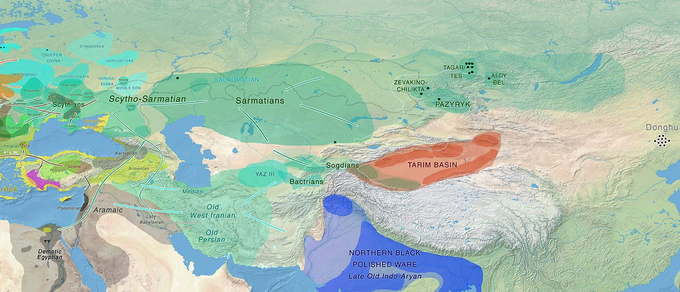 The Iron Age expansion of Southern Siberian groups and ancestry with Scythians