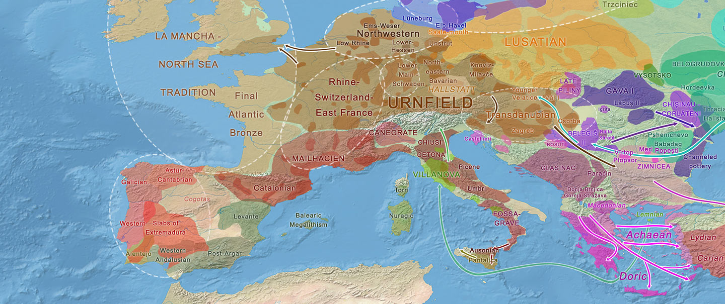 Haplogroup R1b-M167/SRY2627 linked to Celts expanding with the Urnfield culture