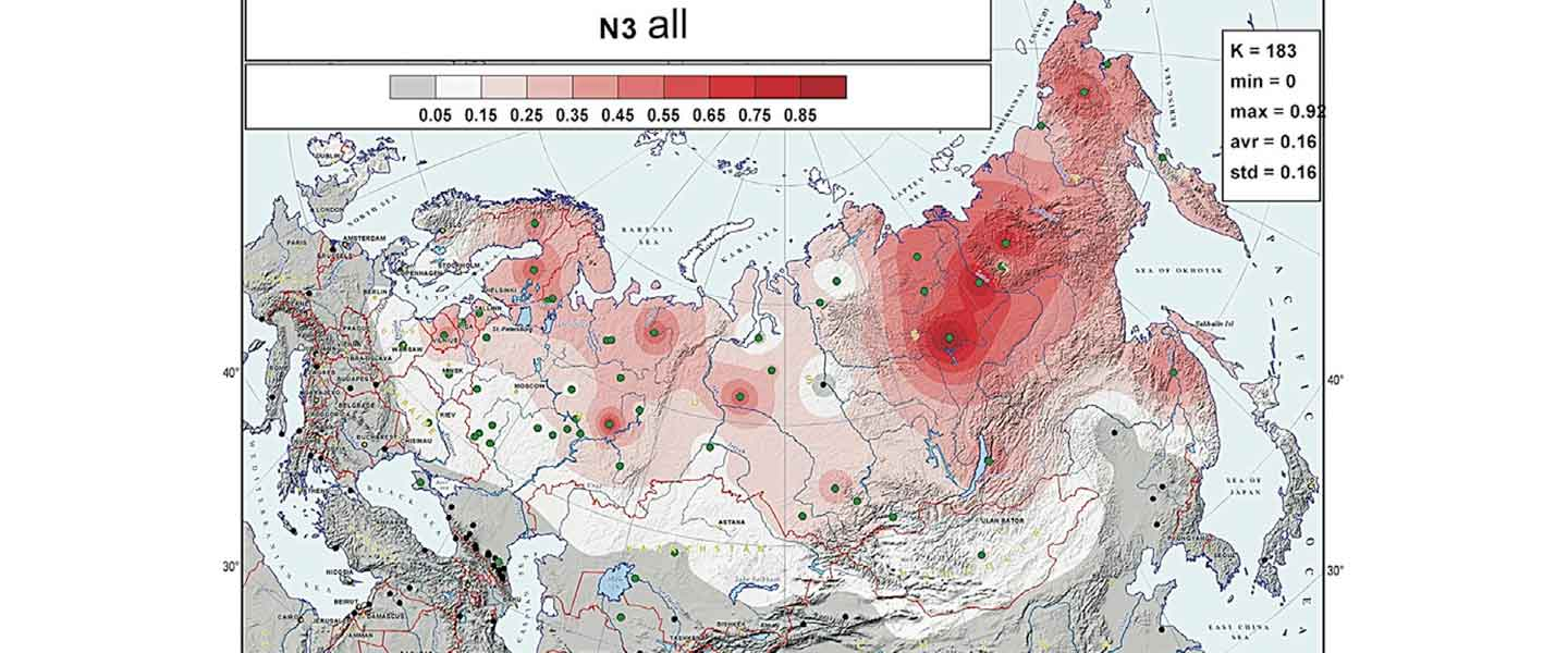 N1c-L392 associated with expanding Turkic lineages in Siberia