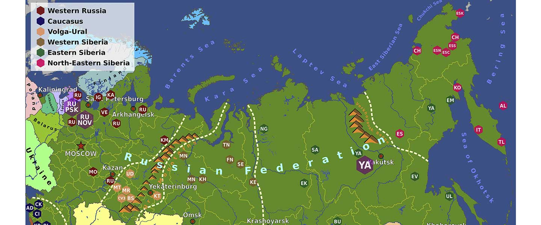 The cradle of Russians, an obvious Finno-Volgaic genetic hotspot