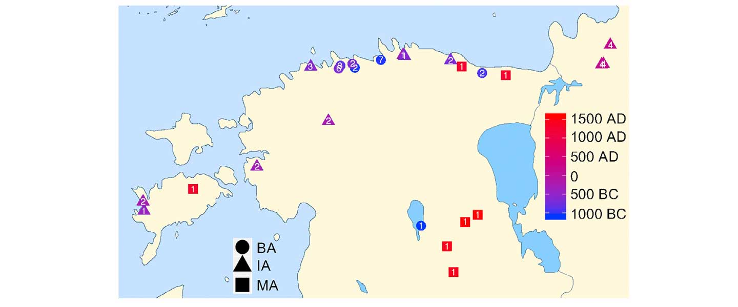 Baltic Finns in the Bronze Age, of hg. R1a-Z283 and Corded Ware ancestry