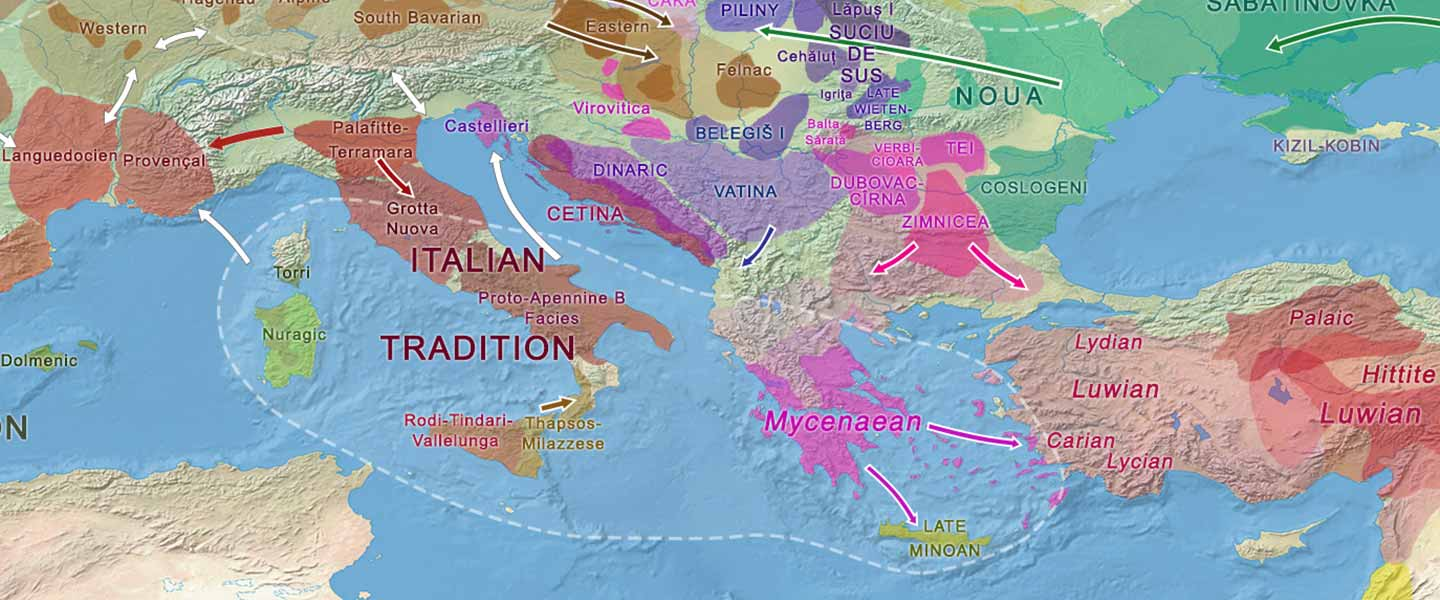 European hydrotoponymy (V): Etruscans and Rhaetians after Italic peoples