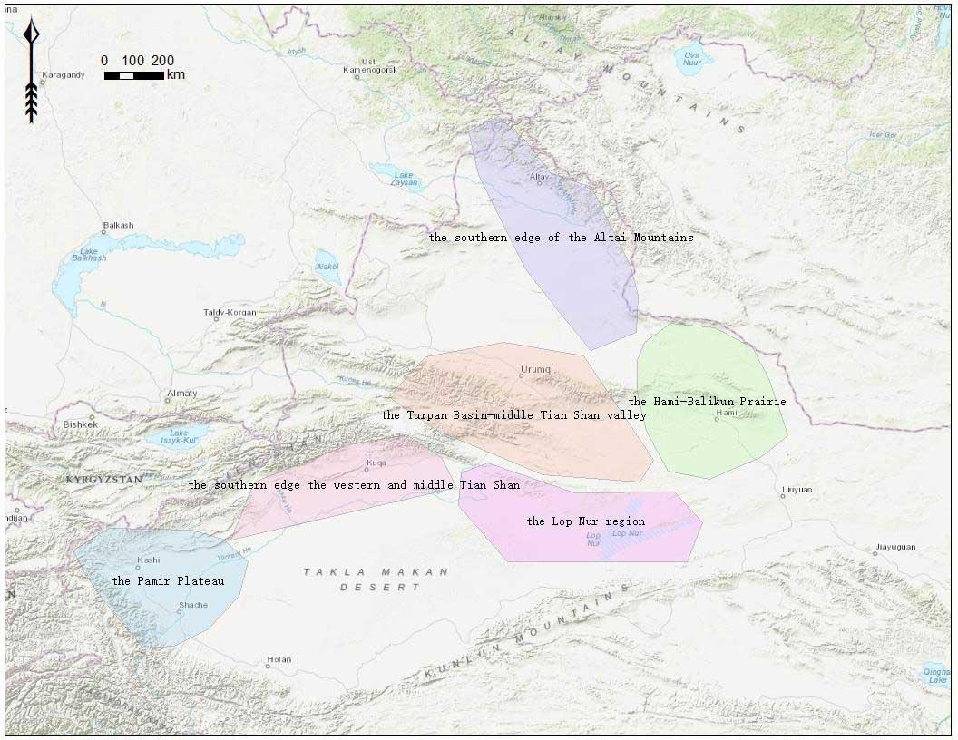 tarim-basin-regions
