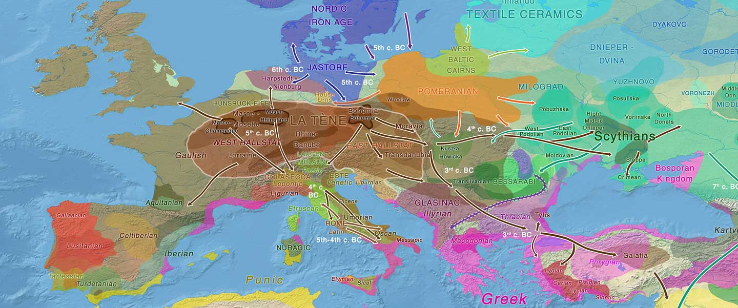 More Celts of hg. R1b, more Afanasievo ancestry, more maps