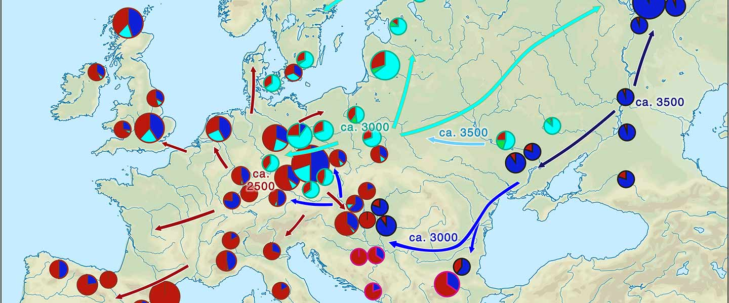 Yamnaya ancestry: mapping the Proto-Indo-European expansions