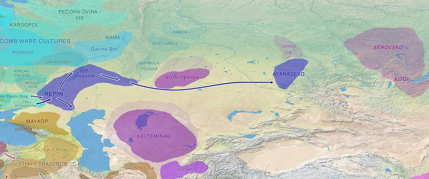 Proto-Tocharians: From Afanasievo to the Tarim Basin through the Tian Shan