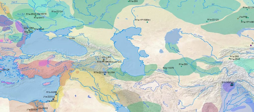 middle-east-armenia-y-dna