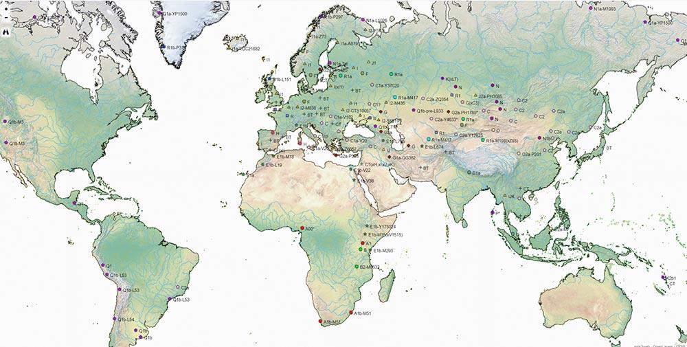 haplogroup-map-physical