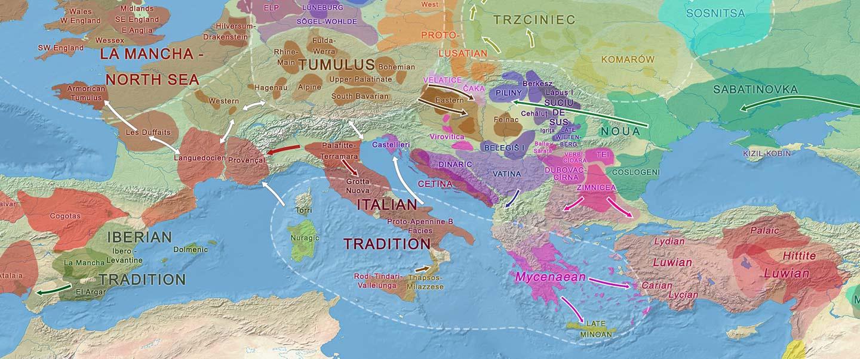 Italo-Venetic peoples related patrilineally to Terramare elites