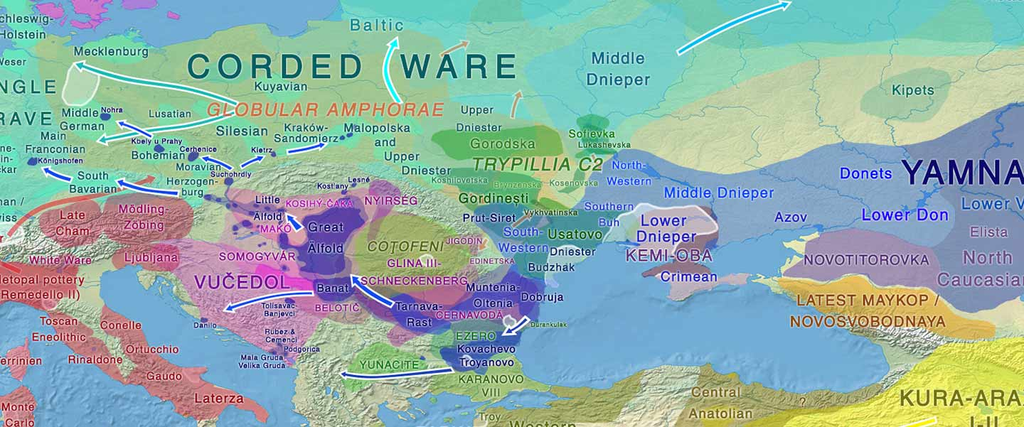 The Corded Ware culture, more complex than previously thought