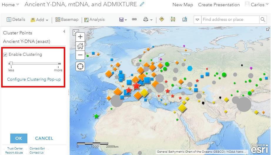 arcgis-online-y-dna-mtdna-clusters