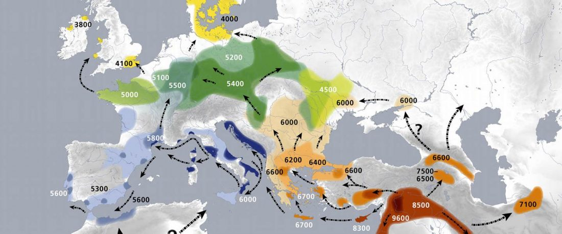 neolithic-expansion-map