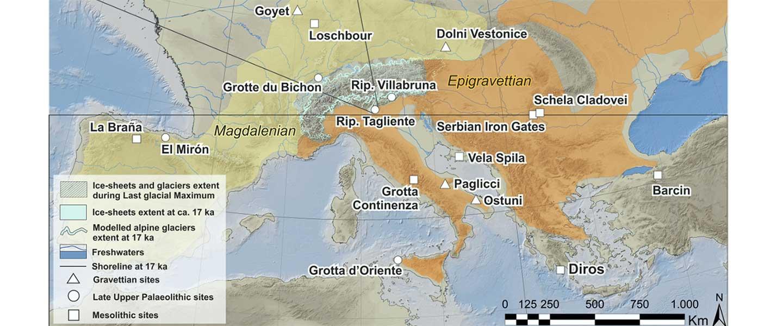 Epigravettian migrations 3,000 years before Villabruna