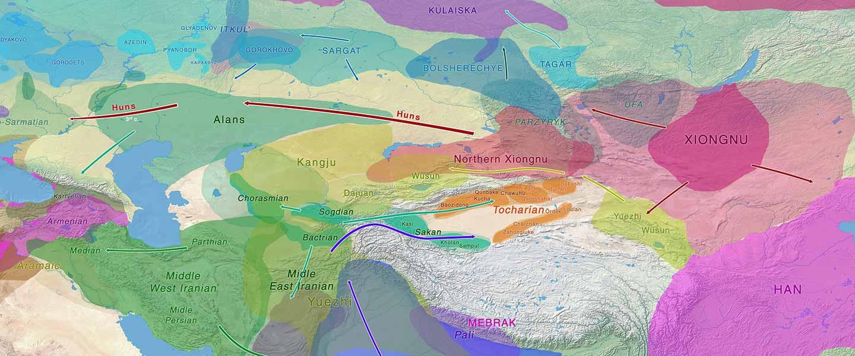 Xiongnu Y-DNA connects Huns & Avars to Scytho-Siberians