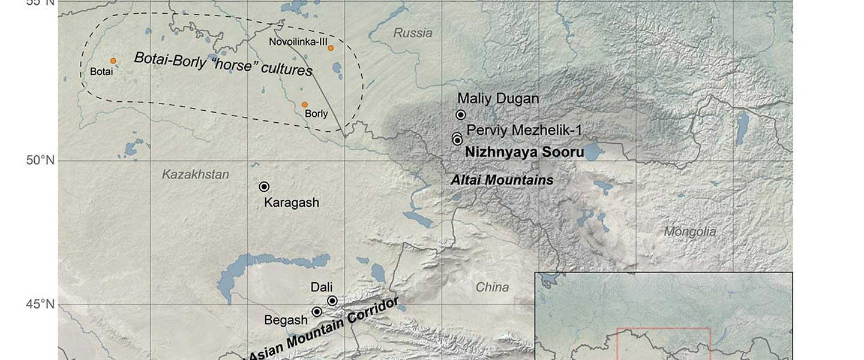 Afanasievo brought domesticated bovids to the Altai; new Tianshanbeilu chronology
