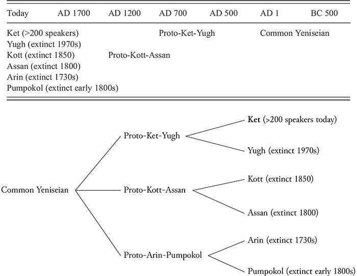 yeniseian-language-tree-estimates