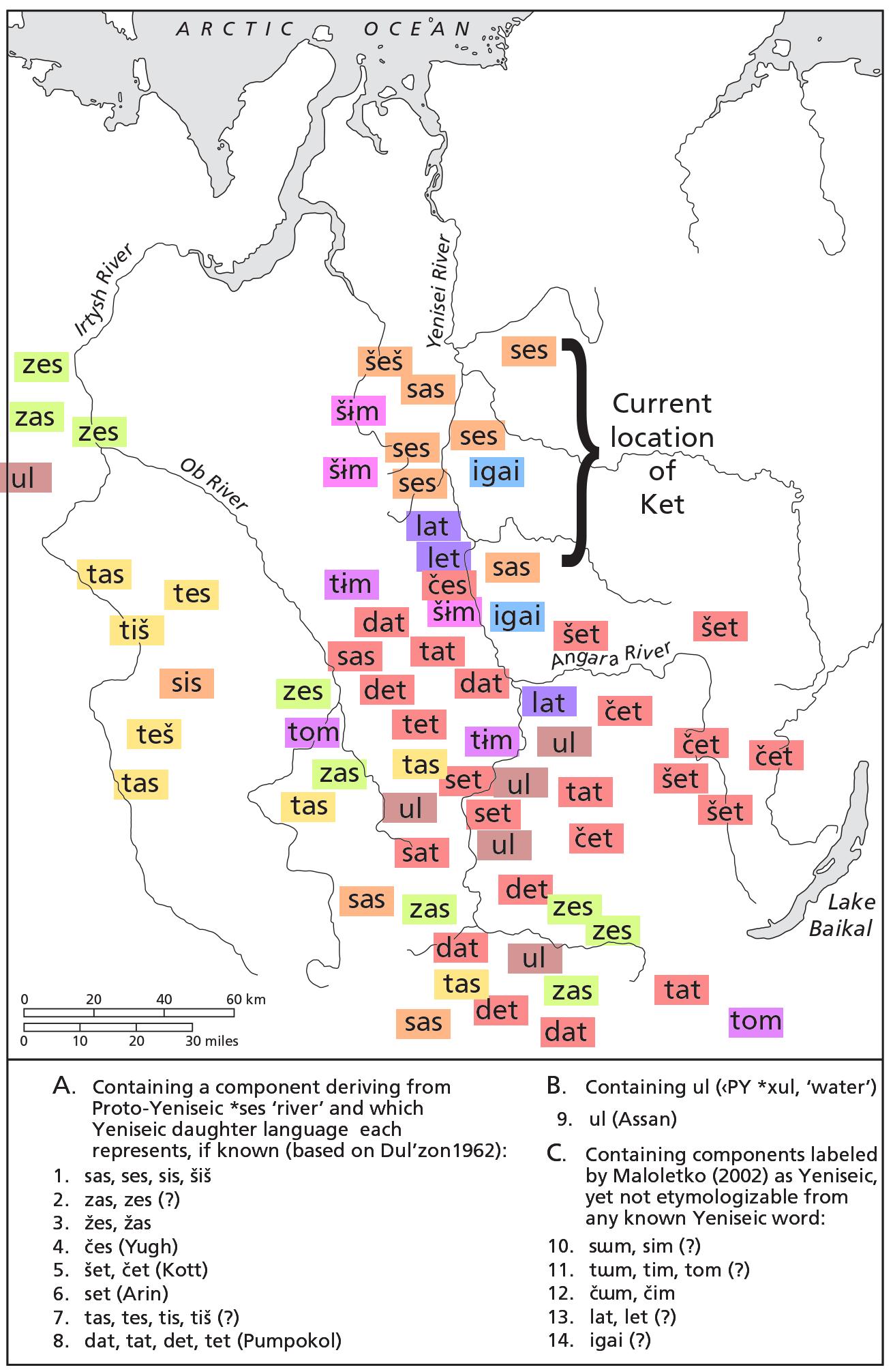 yeniseic-hydronyms-siberia
