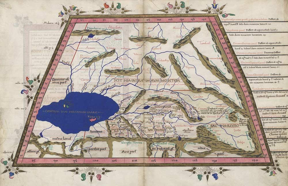 ptolemy-cosmographia-1467-caspian-sea-central-asia