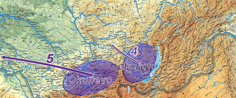 Proto-Yeniseian Homeland