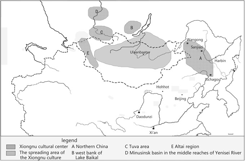 xiongnu-cultural-centers