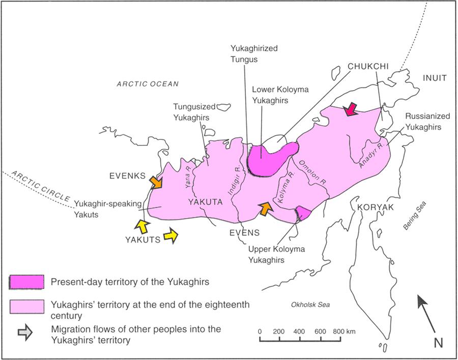 yukaghir-language-evolution